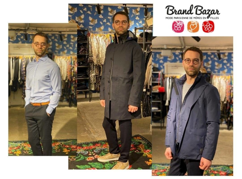 Brand Bazar fils de Nathalie en Wolbe