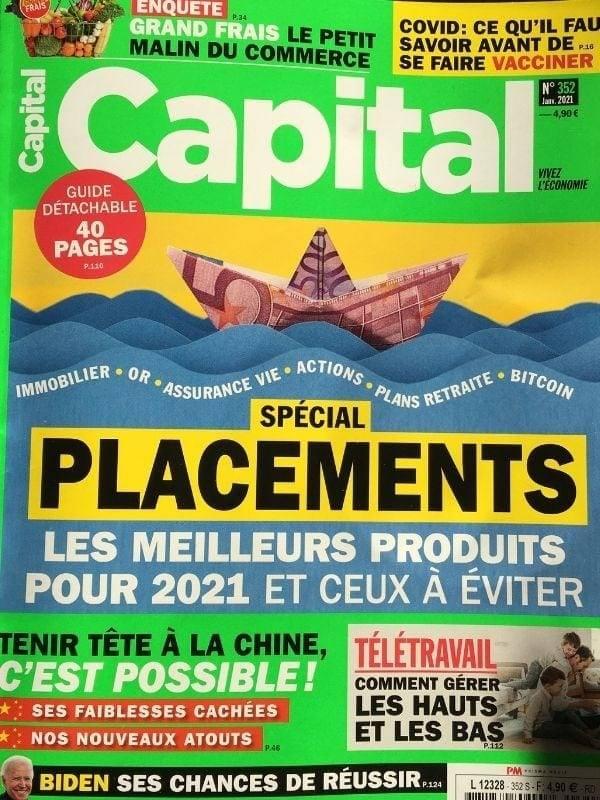Wolbe magazine Capital Janvier 2021