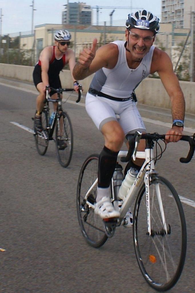 Yann cycliste urbain Wolbe