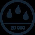 logo imperméable à 20000