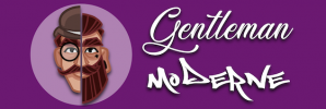 logo gentleman moderne