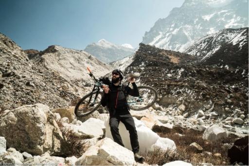 steven le hyaric dans l'Himalaya