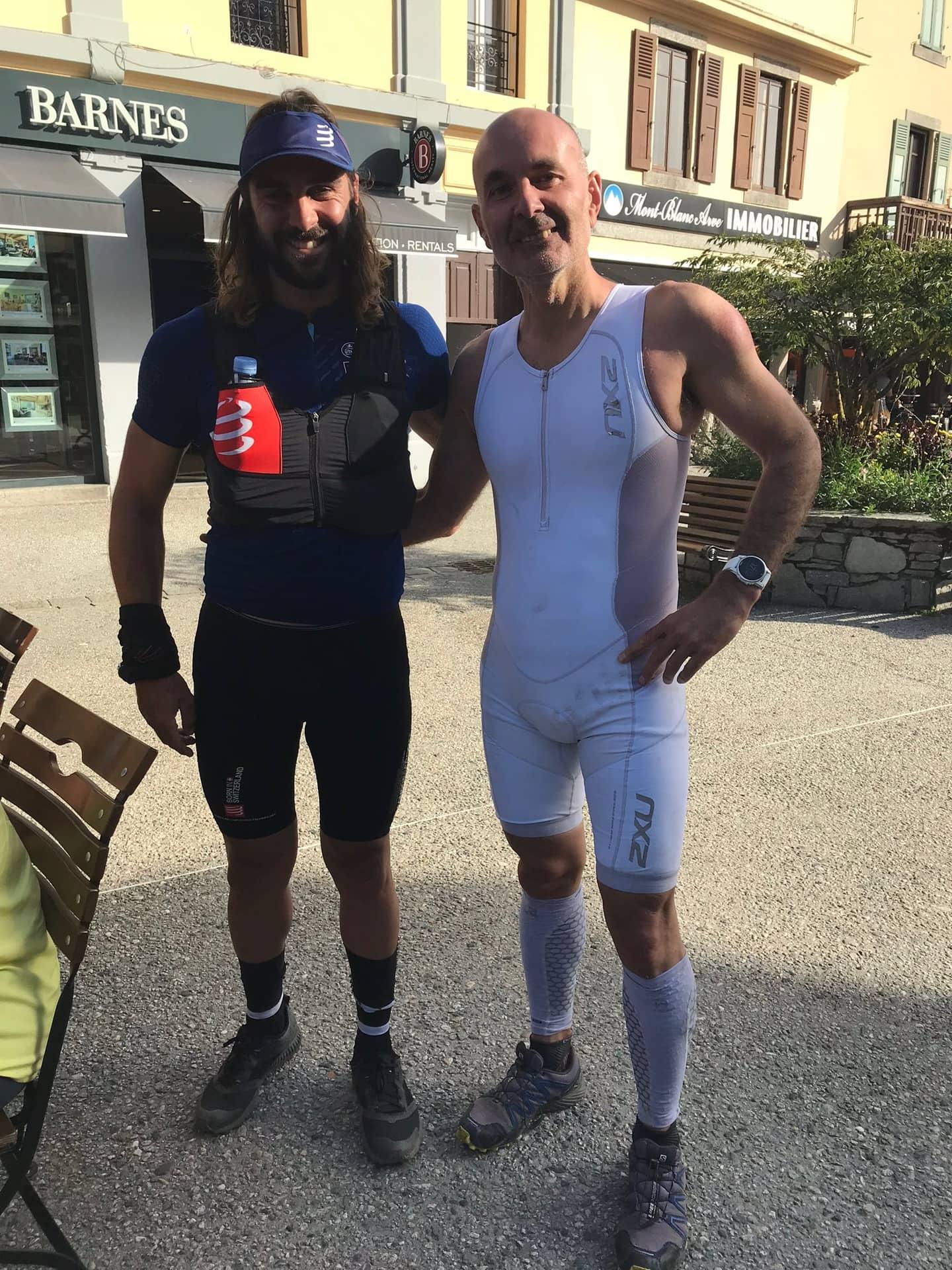 steven le hyaric et Yann Behr Chamonix